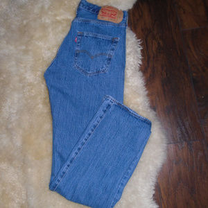 LEVI'S 501 JEANS ~ 32 x 34 ~ RED TAB ~ SELVEDGE ~